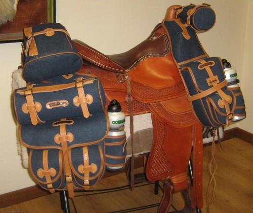 Bisacce cavallo sella Americana