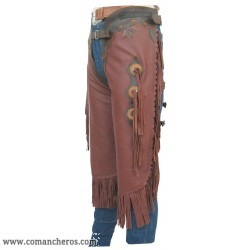 Chaps Chinks in Pelle Nappa