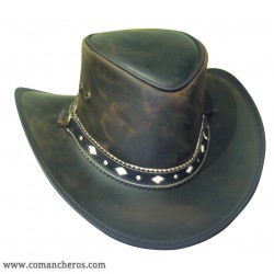 Cappello Country-Western in Cuoio