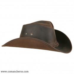 Cappello Western Comancheros in Cuoio