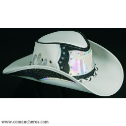 Cappello Pelle Swarovsky