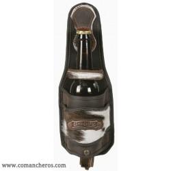 Porta bottiglia con pelo