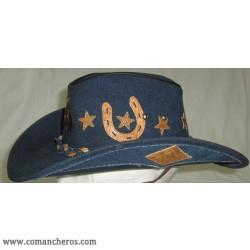 Cappello Jeans Comancheros modello Western