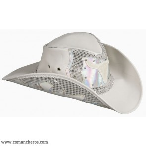 Cappello Country-western argento