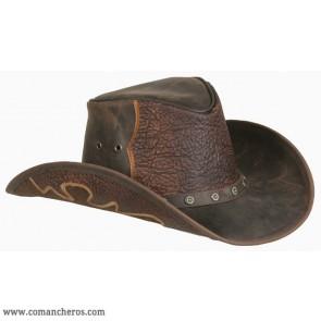 Cappello Cuoio Texano
