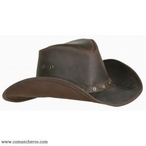 Cappello Cuoio Western