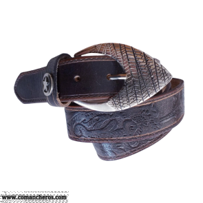 Cintura fibbia a punta