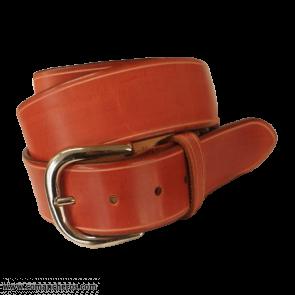 Cintura pelle rossa CT06