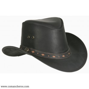 Cappello western nero