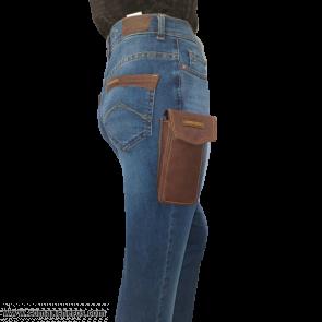 Jeans con Portacellulare