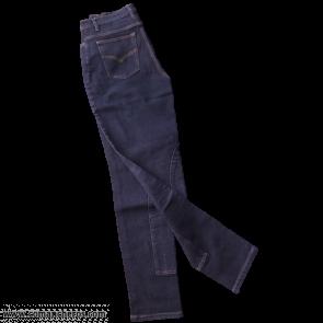 Jeans nero con rinforzi