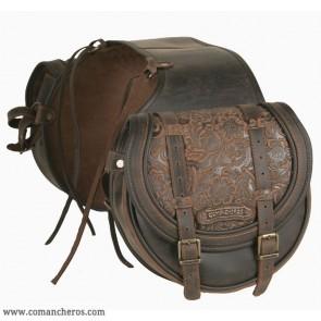 Bisaccia media posteriore Comancheros per Trekking a cavallo
