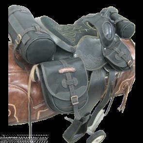 Sella Cuoio Western Pony