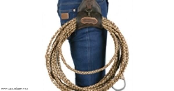 Porta lazo in cuoio da cintura comancheros - Porta metro da cintura ...